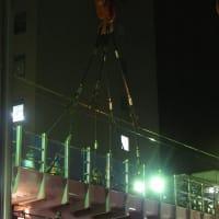 東急大崎広小路駅、跨線橋架け替え工事