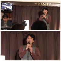 2月20日(木)の夜は、リチャード岡田(vo)さんのライブでした!
