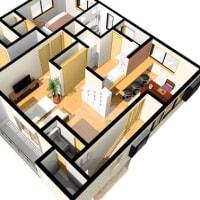 設計デザインと暮らしのイメージを大切に・・・間取りの計画で暮らしの家事時間と生活環境が大きく変化しますよ、出来る限り人の移動と部屋構成の連動を。