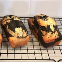 ココアのマーブルパウンドケーキ