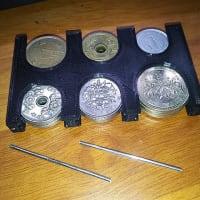 TPUフィラメントで作ったコインホルダー