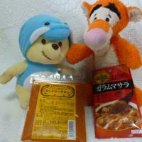 秋晴れというか夏の東京 ヾ(;´▽`A`` 北からのお菓子に問題のタンドリーチキン