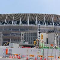 #0019 -'19. 国立競技場に屋根が完成したそうです。