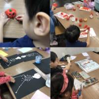 幼児クラスのハロウィン工作