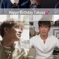 Happy birthday, Takuya!