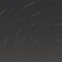 光害地東京の星空