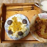 男の手料理 マルゲリータピザ 夕食