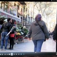 スペインの散歩