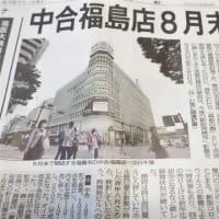 福島駅前百貨店中合 8月末閉店