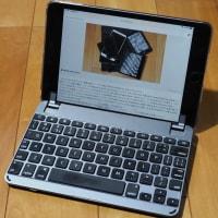 iPad miniのキーボード