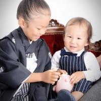 9/15 七五三撮影・弟君と一緒に♫ 札幌写真館ハレノヒ