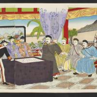 日清韓談判之図 1894.8