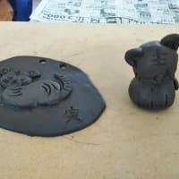 陶芸教室でした。