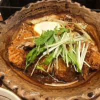 チキン味噌カツ煮定食
