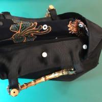 ナイロンハードメッシュのバッグ・・・軽いのが嬉しい!