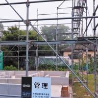 いすみ市岬町押日『 Tさんのお母さんのお家 』⌂Made in 外房の家。は基礎工事無事完了!&24日(月)上棟予定!です。