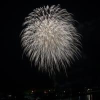 夏祭りの花火