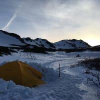 残雪期・岩手山