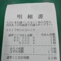 ジャンボ宝くじ 当選記念