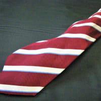 ネクタイを洗濯してしまったら。。