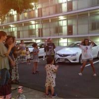 8/18)根岸台の盆踊りでした