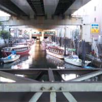 1泊2日、飛行機で行く東京の旅 … 浜松町の屋形船