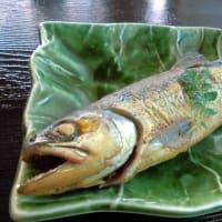 1213) 松幸日替わりランチ ~アジのフライ/アマゴの煮付け/和風ハンバーグ