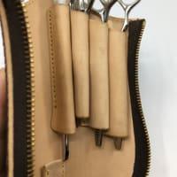 ブランドバッグからのリメイクシザーケース
