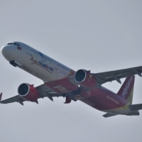 JAL A350XWB 2号機が来てる❗️✈️プレイバック2019年10月1日の関空 ウズベキスタン航空も来てる・・・