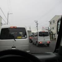 令和3年初車検日は雨ぇ~~