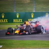 2019F1イギリスGP  フェルスタッペン、ベッテルにオカマ掘られて2位表彰台逃す