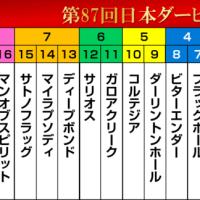 第87回東京優駿(日本ダービー2020)