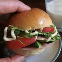 野菜ハンバーグ。