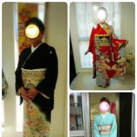 結婚式season🎵留袖&訪問着&振袖🎵お着物でご出席はいかがですか(⋈◍>◡<◍)。✧♡