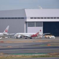 聖火特別輸送機、羽田に移動。18日、ギリシャへ出発!※追記あり
