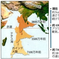 258.ヒマラヤ山脈はプレートの衝突