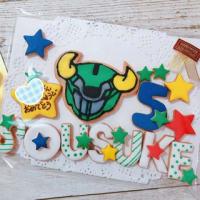 バースデーケーキ♡オーダー ~5歳☆アースグランナー~