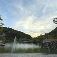 幻日が・・勝尾寺の空から。