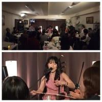 2月16日(日)の午後は、澤渡なおこ(二胡)さんのライブでした!