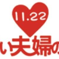 今日はいい夫婦の日!11/20は世界子どもの日!
