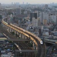 上越新幹線E4系「Maxとき332号」 北区「北とぴあ」にて (2019年8月)