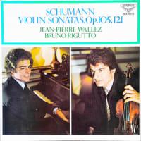 ◇クラシック音楽LP◇ワレーズ&リグットによるシューマン:ヴァイオリンソナタ第1番/第2番