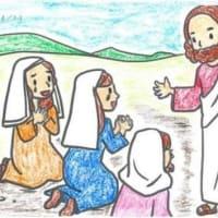 復活の祝杯・・・『イエスが婦人たちの行く手に立っていて、「おはよう」と言われた。』