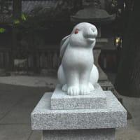 初詣 うさぎ神社岡崎神社