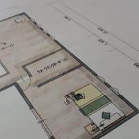(仮称)暮らしのシーンに和モダンのエスプリが集う格子の家新築計画設計デザイン・LDKと使い勝手、暮らしの時間と質とパーツを整理整頓の途中。