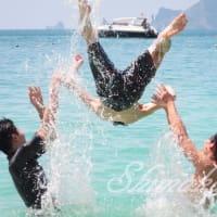 全力で楽しむ男のビーチ遊び☆