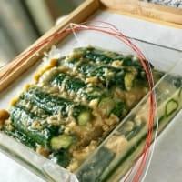 胡瓜の味噌漬け(^^♪