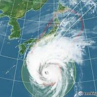 台風第19号(ハギビス HAGIBIS)