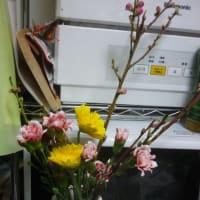 花をいけました