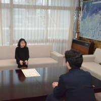 「DANCE CUP 2019」小学生の部に出場された高野礼芽さんに箕面市長表彰!